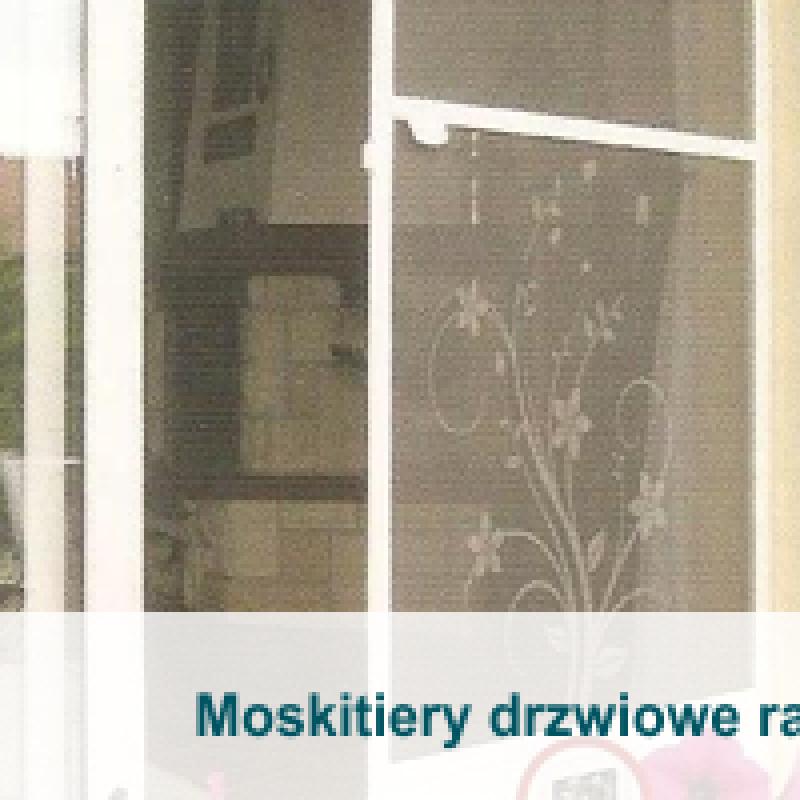 Moskitiery drzwiowe ramkowe